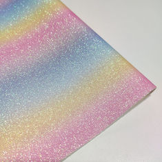 Rainbow 0.65mm Abrasion Resistant Glitter Leather Fabric